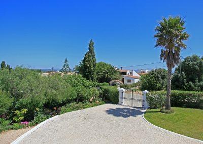 Driveway of Villa Julia